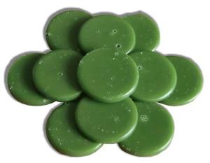 saco cera-quente-discos-verde